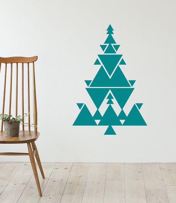 Diese liebenswert Multi Größe Dreiecke Aufkleber werden besondere Note an Ihrem Home & Office hinzufügen. Es gibt 3 Größe Dreiecke und lassen sich in Ihren eigenen Baum. Dabei kann es sich leicht angewendet oder entfernt, keine Rückstände an den Wänden zu verlassen. * Bild dient nur als Referenz und kann nicht genau die tatsächliche Größe darstellen.   ** VERFÜGT ÜBER ** • Weihnachtsbaum Wall Decal set • Größe (3 verschiedene Sätze)  -Großer Baum Satz: 40 W x 53 H (Bild mit Kinderzimmer)…