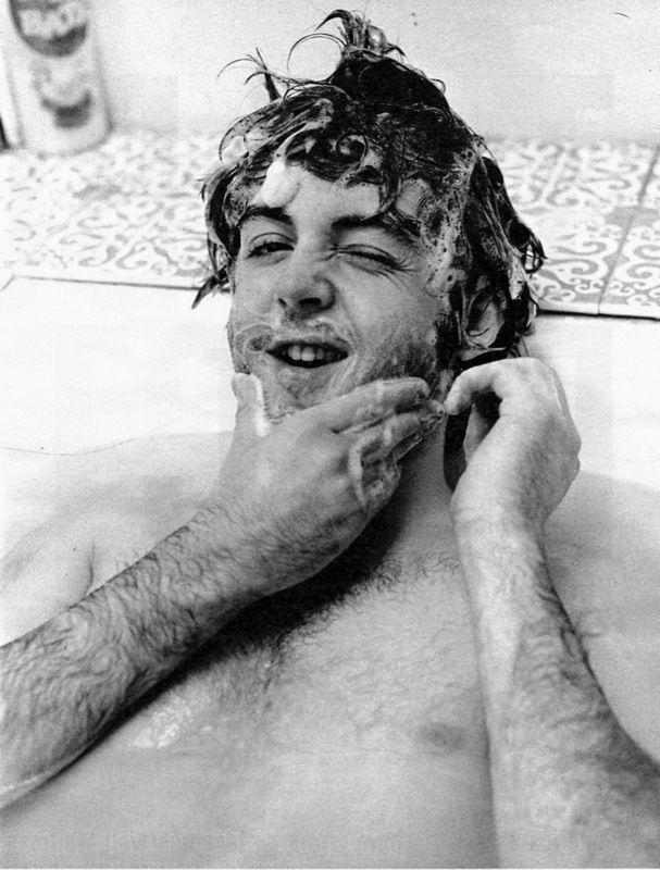 Paul McCartney: Sirpaul, Happy Birthday, Beatle, Paul Mccartney, Sir Paul, Bubbles Bath, Doce Paul, Paulmccartney, Bath Time