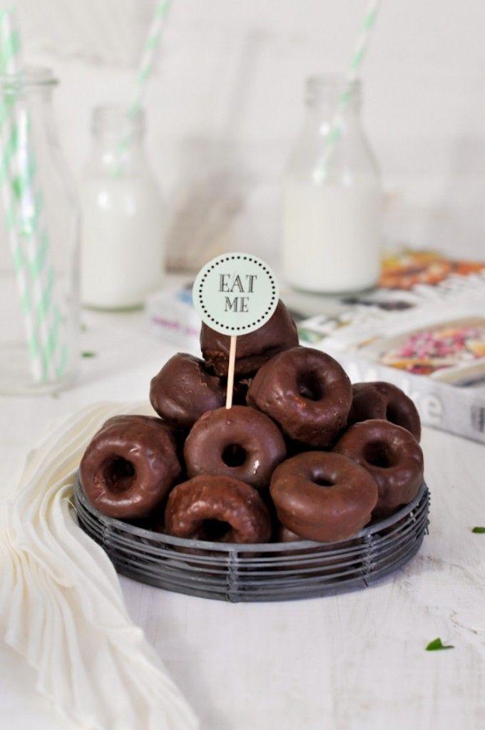 Los dónuts horneados perfectos, con auténtico sabor a dónut, descubre la mejor receta de dónuts con ingredientes sencillos y fáciles de encon