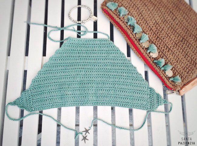 Halter Top de Crochet