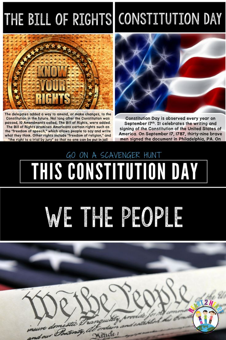 Send your students on a fun scavenger hunt to learn about the United States Constitution and Constitution Day! This mini-unit includes 6 short passages with real-life photos to post around the classroom. Using the two organizers and a clip board students act as detectives to track down the answers to the questions. This is a wonderful way to get students actively involved with the information literally by getting them up and out of their seats to celebrate Constitution Day!