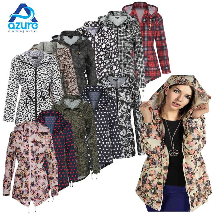 RAIN MAC LADIES PARKA WOMENS FISHTAIL JACKET FESTIVAL COAT 8 10 12 14 16 in Clothes, Shoes & Accessories, Women's Clothing, Coats & Jackets | eBay