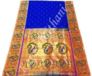 Motif Paithani, Weaving Paithani, Colour