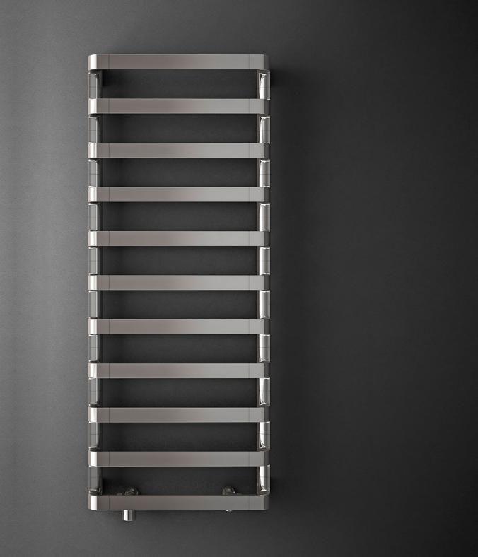 Irsap  Step, design Antonio Citterio con Sergio Brioschi. In alluminio a finitura opaca, viene progettato nei minimi dettagli: la valvola di regolazione, per esempio, è a scomparsa. living.corriere.it