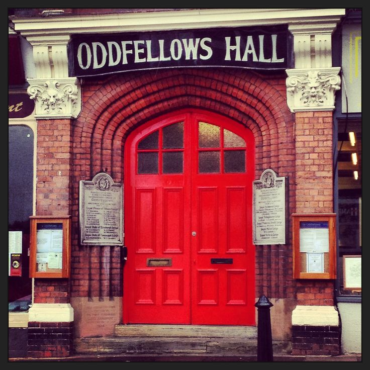 Oddfellows Hall, Dorking , Surrey where I had my Ballet,Modern and Tap classes ...