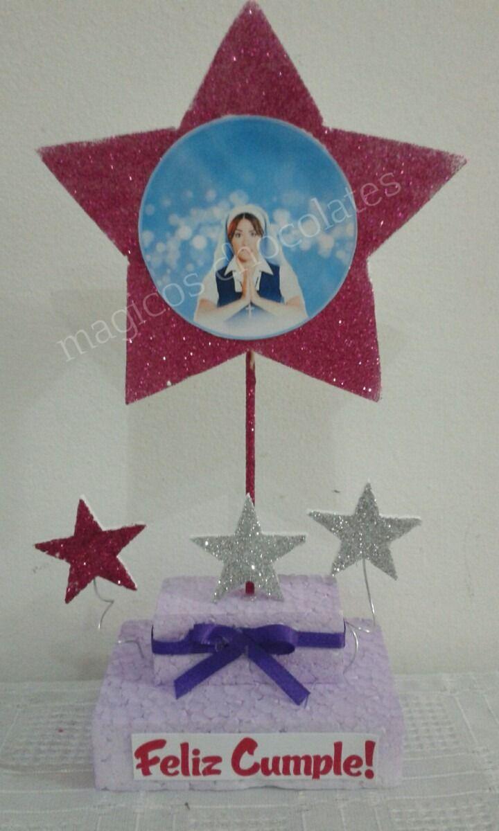 Adorno De Torta Y Centros De Mesa Esperanza Mia - $ 55,00 en MercadoLibre