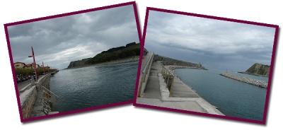 Visitando Zumaia en el país vasco y Pamplona (el parque de los sentidos)