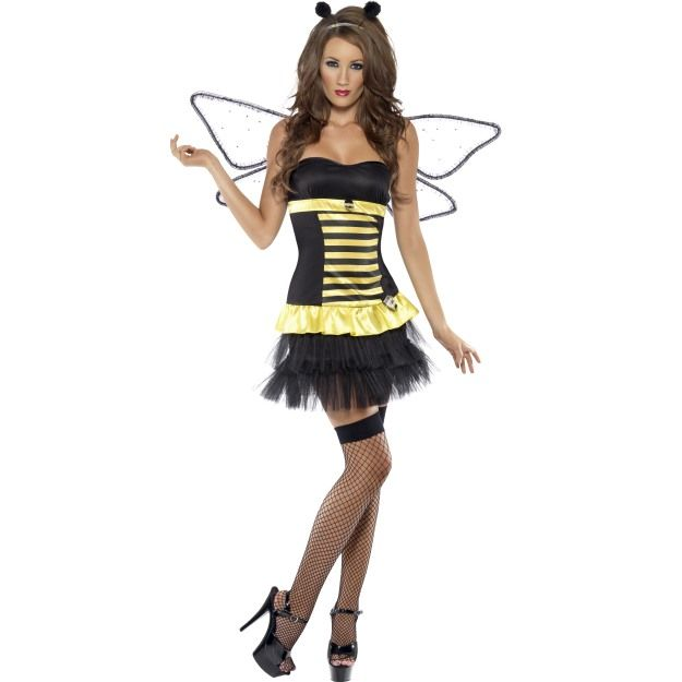 Fever Reversible Bumble Bee / Lady Bug Costume