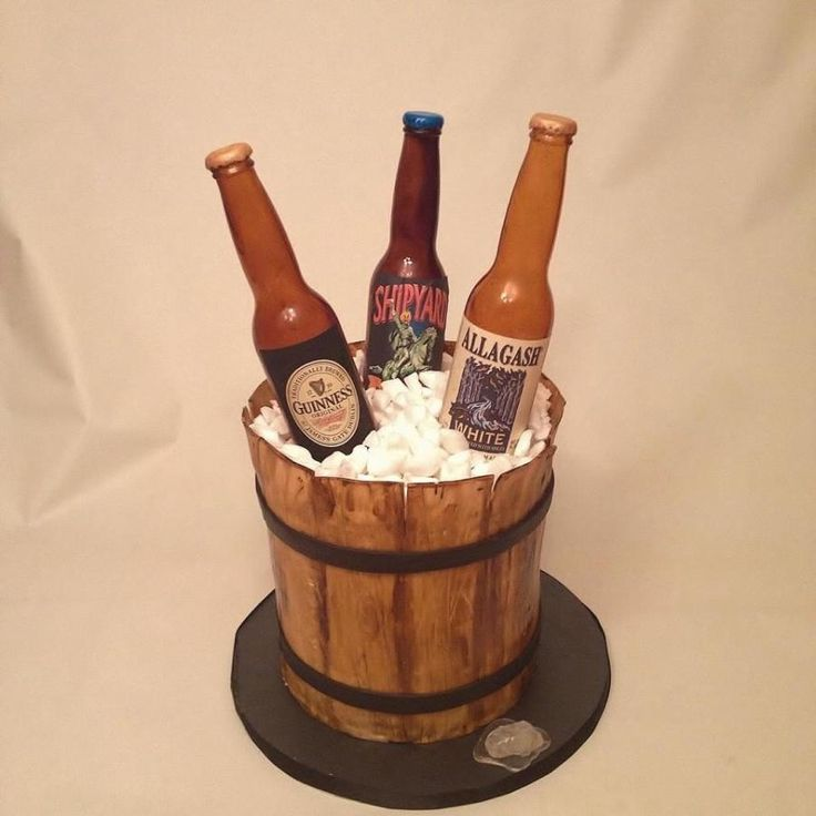 Beer Cake - For all your cake decorating supplies, please visit craftcompany.co.uk