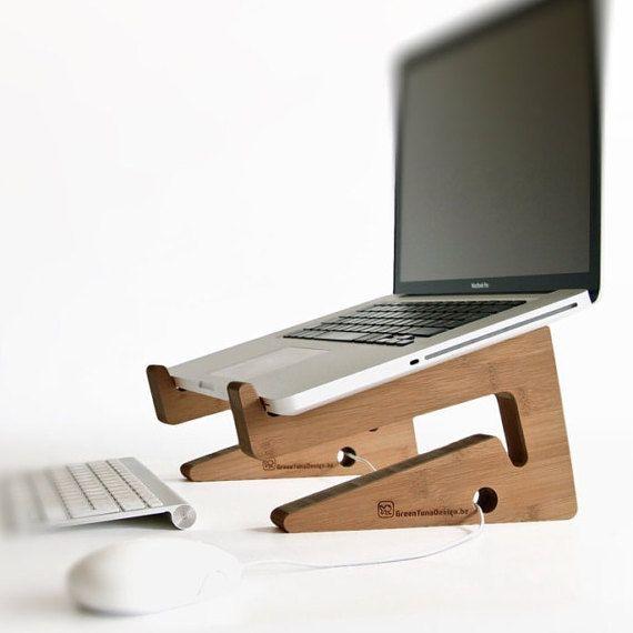 SOPORTE del ordenador portátil ordenador a la por greentunadesign