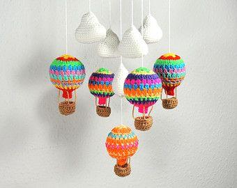 PRIMAVERA A venta aire caliente globo móvil por youngheartslove