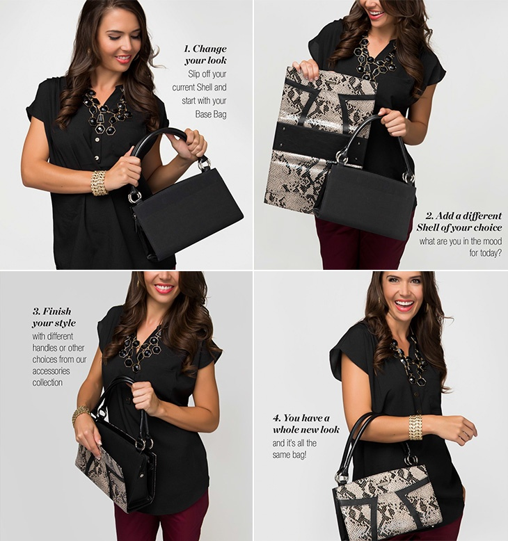 The simple steps to your Miche Bag!