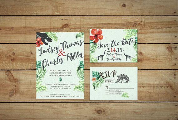 Dinosaur Wedding Invitations: Best 25+ Dinosaur Wedding Ideas On Pinterest