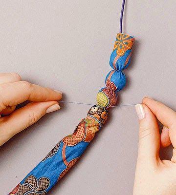 Сумочки ручной работы: Ручки для сумки своими руками из бусин и цепочки