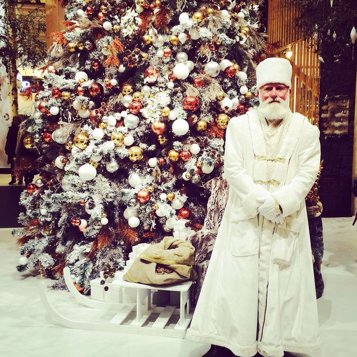 The Northpole visiting Santa  Just kidding, was in the KaDeWe in Berlin