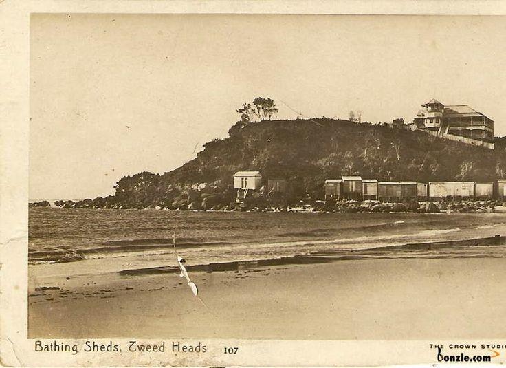 1916 Tweed Heads Bathing Sheds