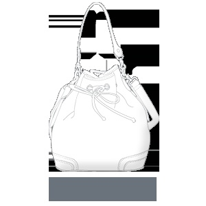 sterling & hyde custom handbags - Beautiful Bucket $249.00    http://sterlingandhydecustom.com