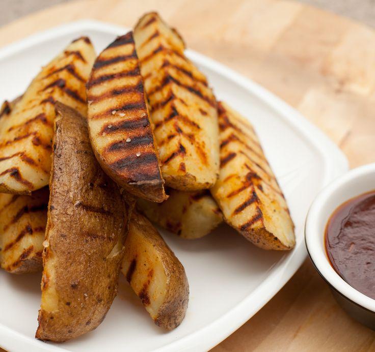 Grilled fries.Frytki z grilla.