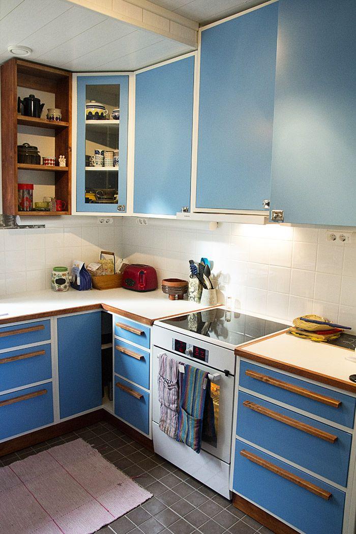 Keittiöremppa päivitys, 50 -luvun keittiö.
