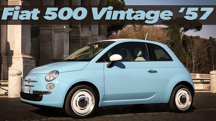 Nuova FIAT 500 Vintage '57: il ritorno di un Mito