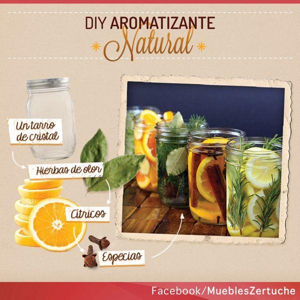 Llena tu hogar de armonía con este diy aromatizante, muy sencillo de realizar.   #HazloTuMismo #Aromatizante #DIY
