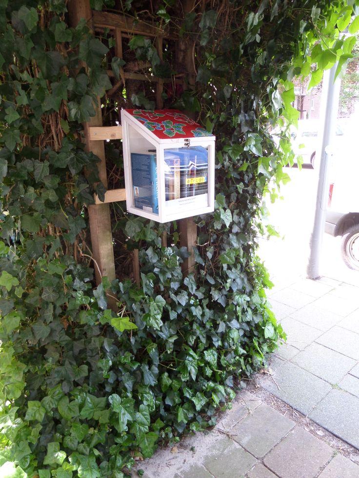 Straatbieb, little free library, wilde boeken-kast. Wij hebben er nu ook een in Overschie. Lezen maar!
