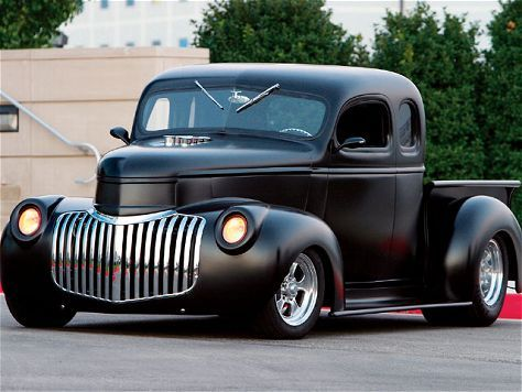 1946 Chevy Truck - Black Satin