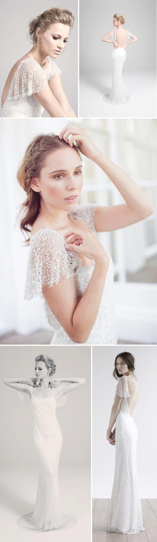 Amanda Garrett | Schneeflockenkleid - Hochzeitsideen, Hochzeitstrends und Hochzeitsgalerien