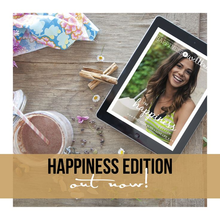The Happiness Edition is now live on the Apple App Store and on our online shop at: http://happywellmag.com/ !!  This issue we dive deep into all matters happiness and uncover the secrets to helping you find and lead a life that radiates with bliss. We hope you enjoy this issue as much as we have adored creating it for you x  As always, a big thank you to all of our contributors, readers and supporters. We love you all so much!