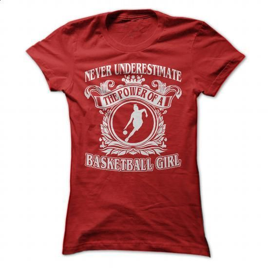Cool Basketball Girl - #tees #cool shirt. SIMILAR ITEMS => https://www.sunfrog.com/Sports/Cool-Basketball-Girl-Red-Ladies.html?60505