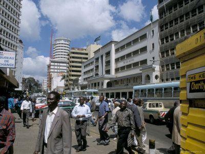 Moi Avenue, Nairobi, Kenya, East Africa