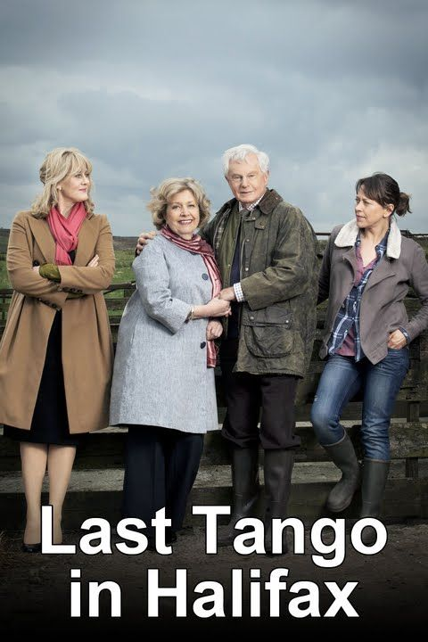 """Last Tango in Halifax"" (2012). Starring: Derek Jacobi, Anne Reid, Sarah Lancashire and Nicola Walker. Great acting from a great cast."