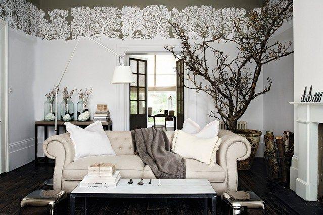 Cosy cream - Living Room Design Ideas & Pictures - Decorating Ideas (houseandgarden.co.uk)