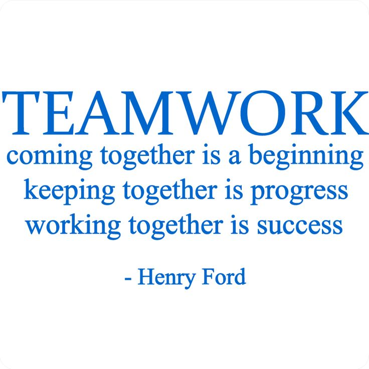 25+ best Quotes about teamwork on Pinterest | Teamwork quotes ...