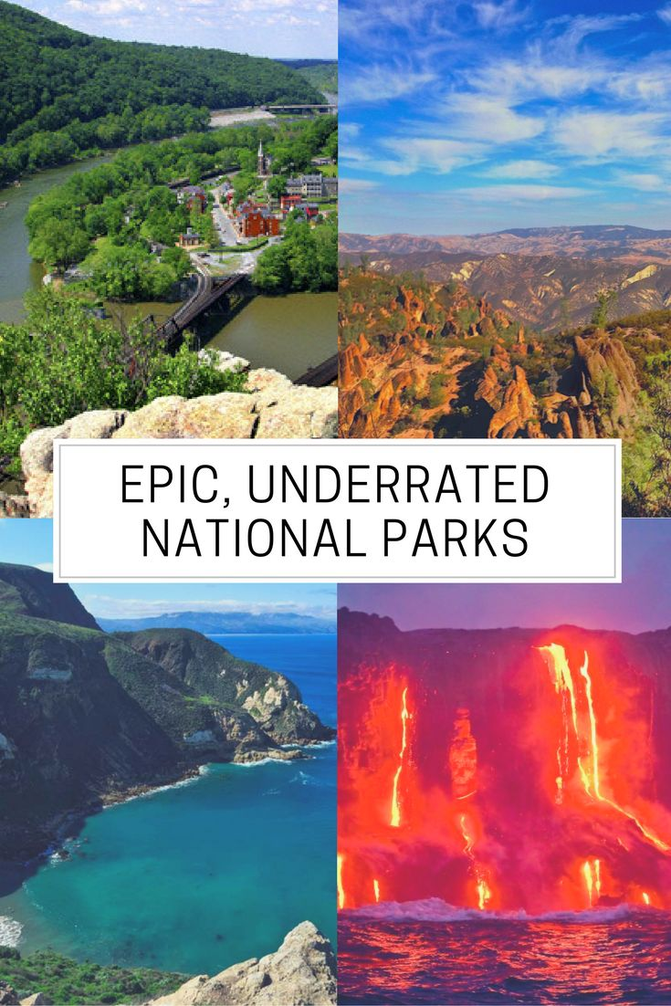 Eight awesome National Parks you might not have heard of!
