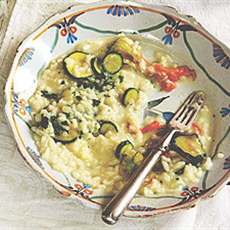 Try this Zucchini Flower Risotto recipe by Chef Sophie Dahl.