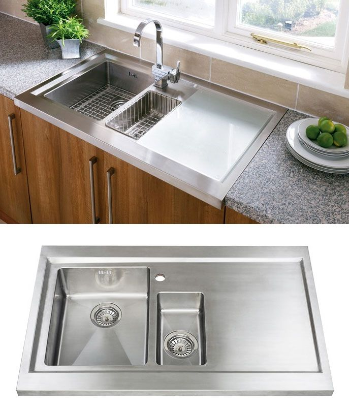 Sit On Kitchen Sink Part - 46: Astracast BISTRO 1.5 SIT-ON Kitchen Sink With FREE ACCESSORIES   Hottage    Pinterest   Sinks, Kitchens And House