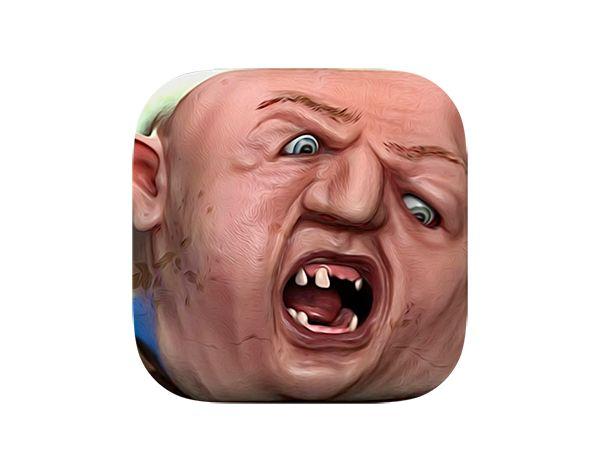 The Goonies - Sloth iOS icon on Behance