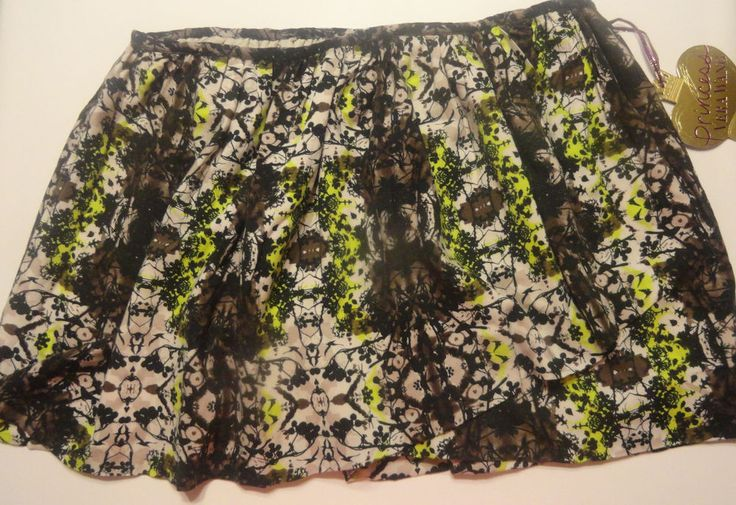 Ladies Simply Vera Vera Wang Wrap Floral Skirt Juniors Sizes 0, 7 #SimplyVeraVeraWang #Wrap