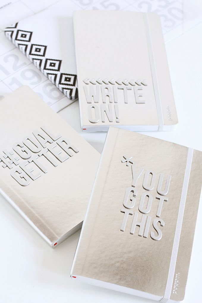 » MY DIY | New Year Notebook
