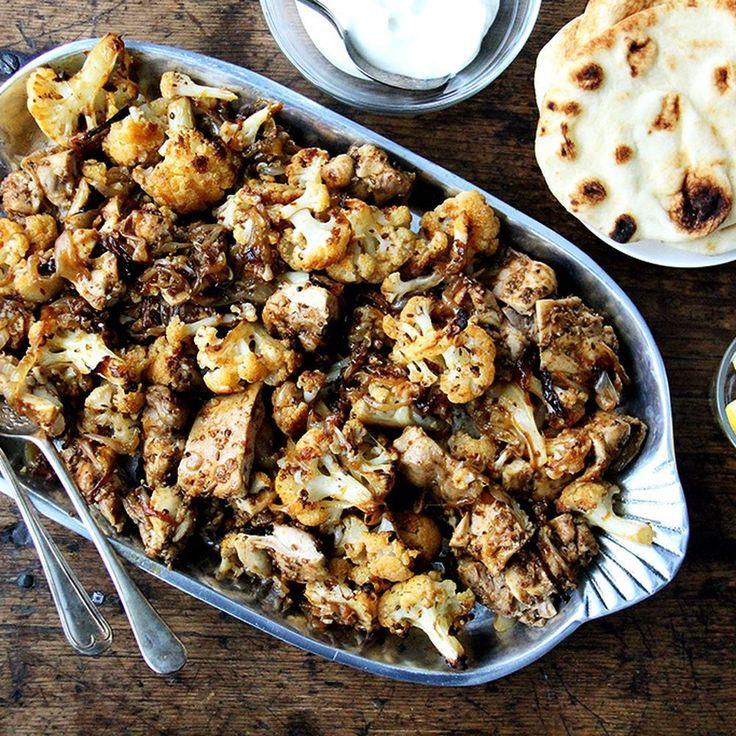 "Sheet Pan Chicken and Cauliflower ""Shawarma"" Recipe on Food52 recipe on Food52"