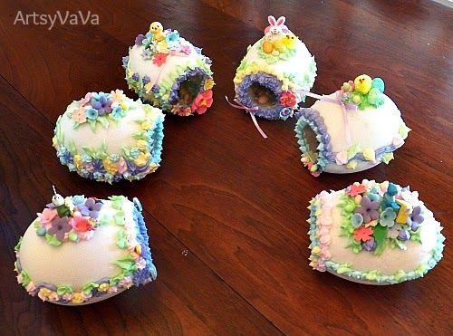 Artsy VaVa: Panoramic Sugar Easter Eggs