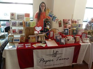 Paper Turns: Craft Shows and Pop-Up Markets
