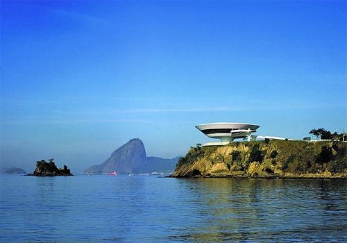 MAC Museo de Arte Contemporáneo de Niterói, Brasil, Oscar Niemeyer