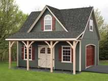 47 best 2 story garage images on pinterest for Prefab garage with studio