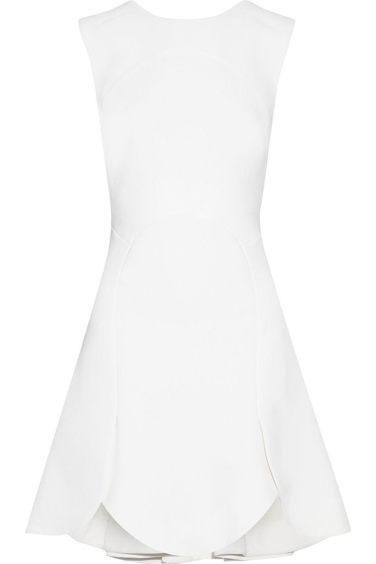 ANTONIO BERARDI WOOL-BLEND CREPE MINI DRESS GBP280 http://www.theoutnet.com/product/585774