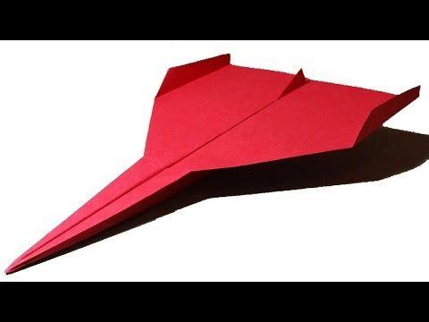 Hoe maak je een Papieren Vliegtuigje dat Ver Vliegt | Limbus - YouTube