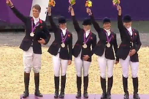 GB Equestrian Team Win Silver