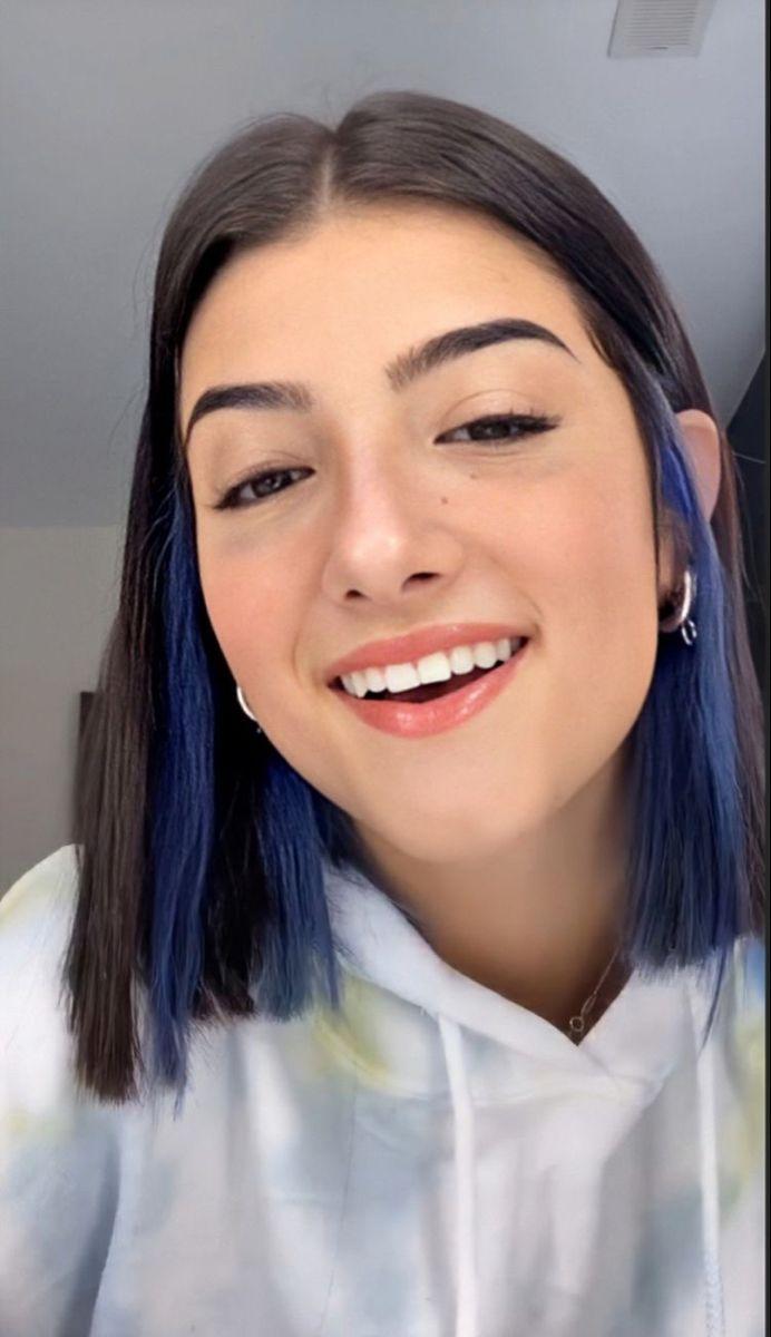 Charli D Amelio In 2020 Hair Color Streaks Hair Inspo Color Hair Color Underneath