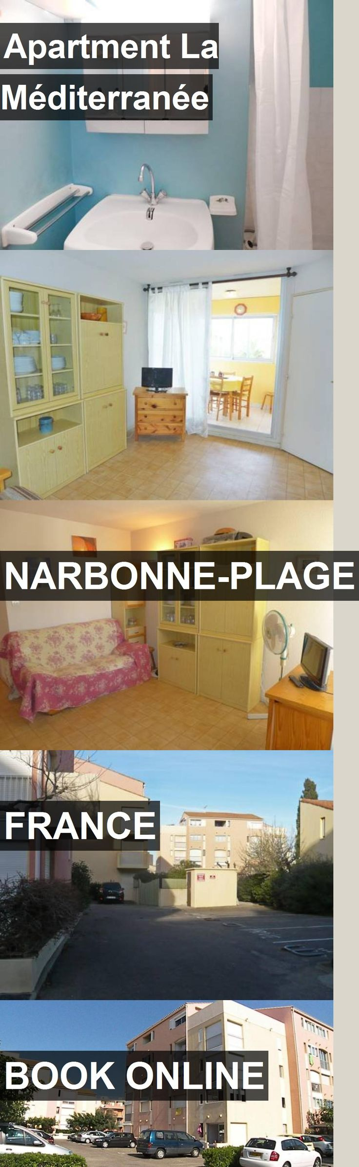 Apartment La Méditerranée in Narbonne-Plage, France. For more information, photos, reviews and best prices please follow the link. #France #Narbonne-Plage #travel #vacation #apartment